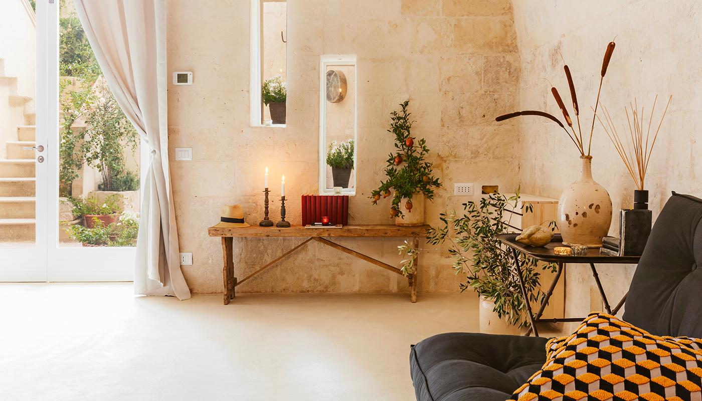 Angolo Del Letto : Essence suites casa vacanze ne sassi di matera angolo del poeta